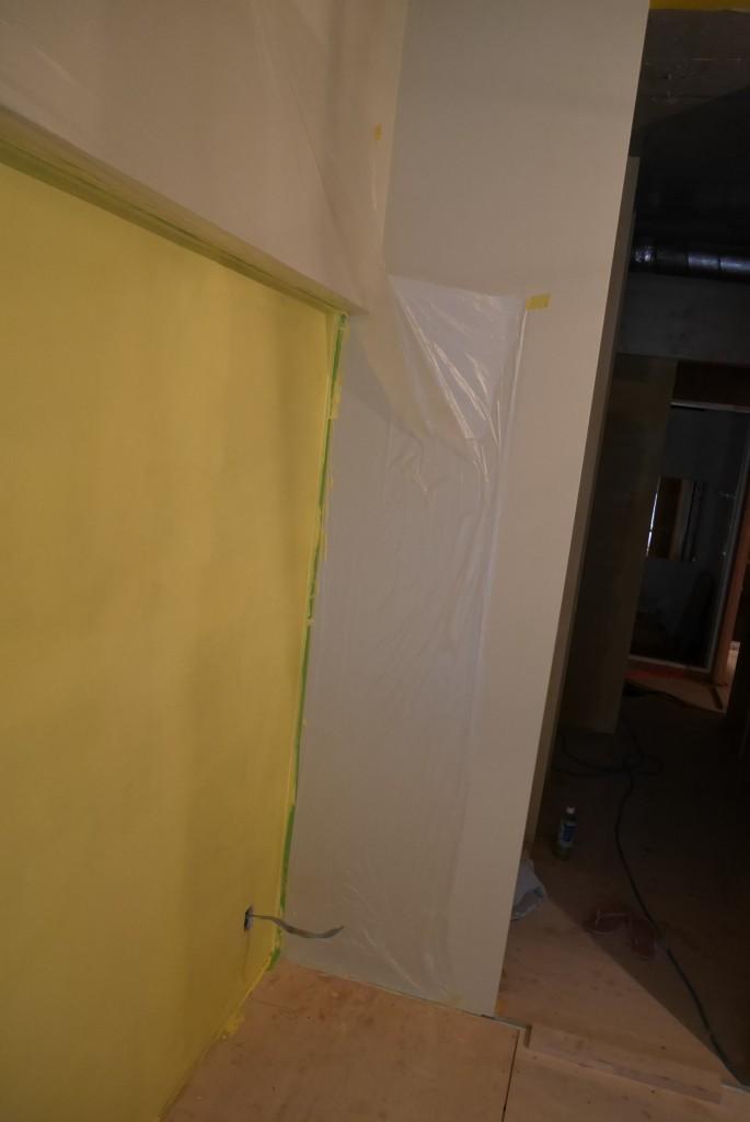カラーワークスのペンキで塗る