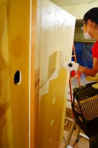 DIYで塗装
