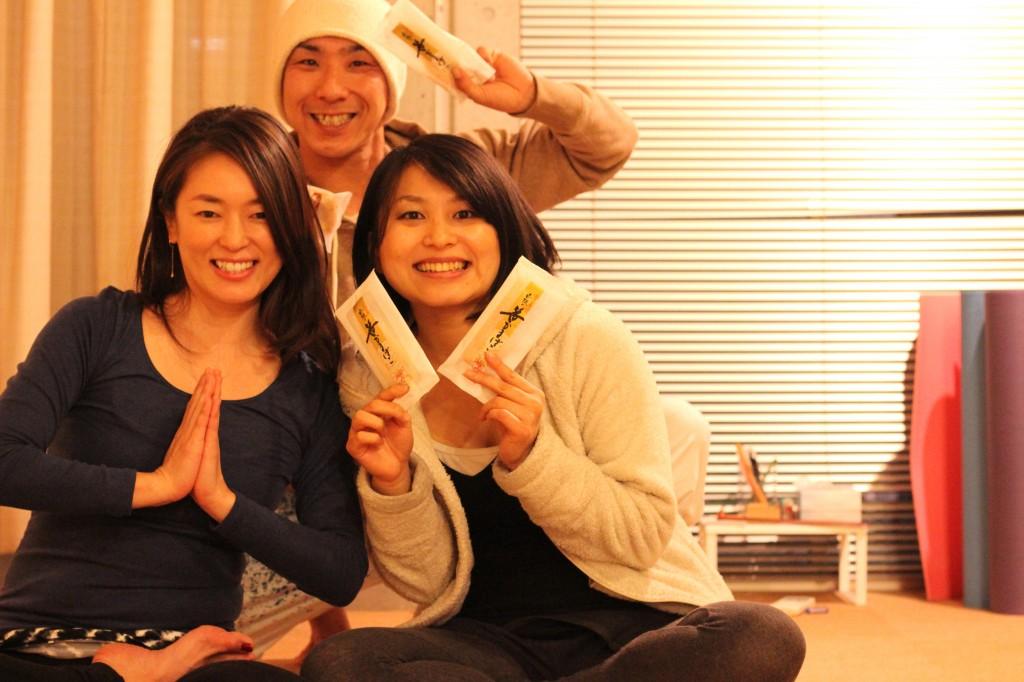 2014/12/31 Last Yoga後の先生達
