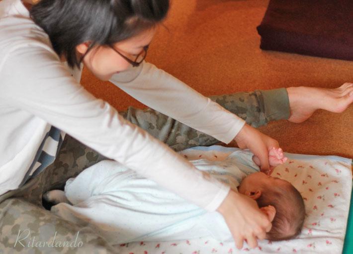 産後ヨガ2